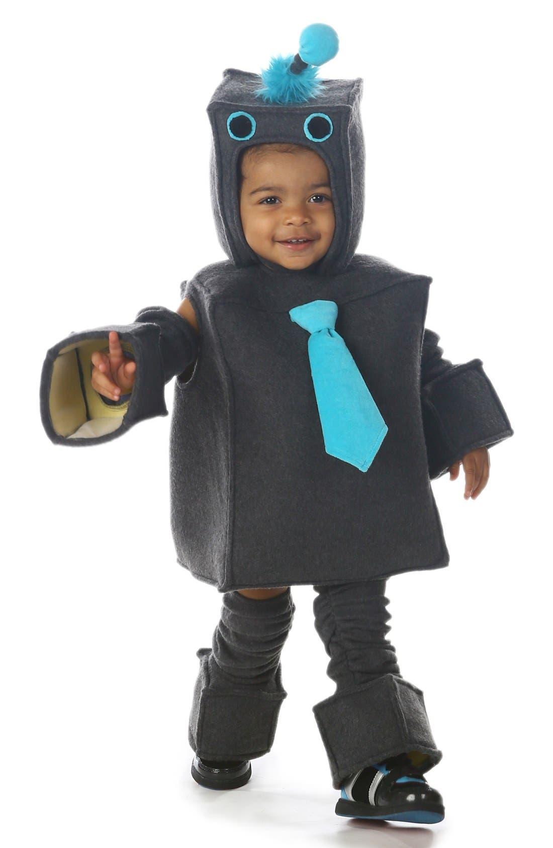 Alternate Image 2  - Princess Paradise 'Roscoe the Robot' Costume (Baby)