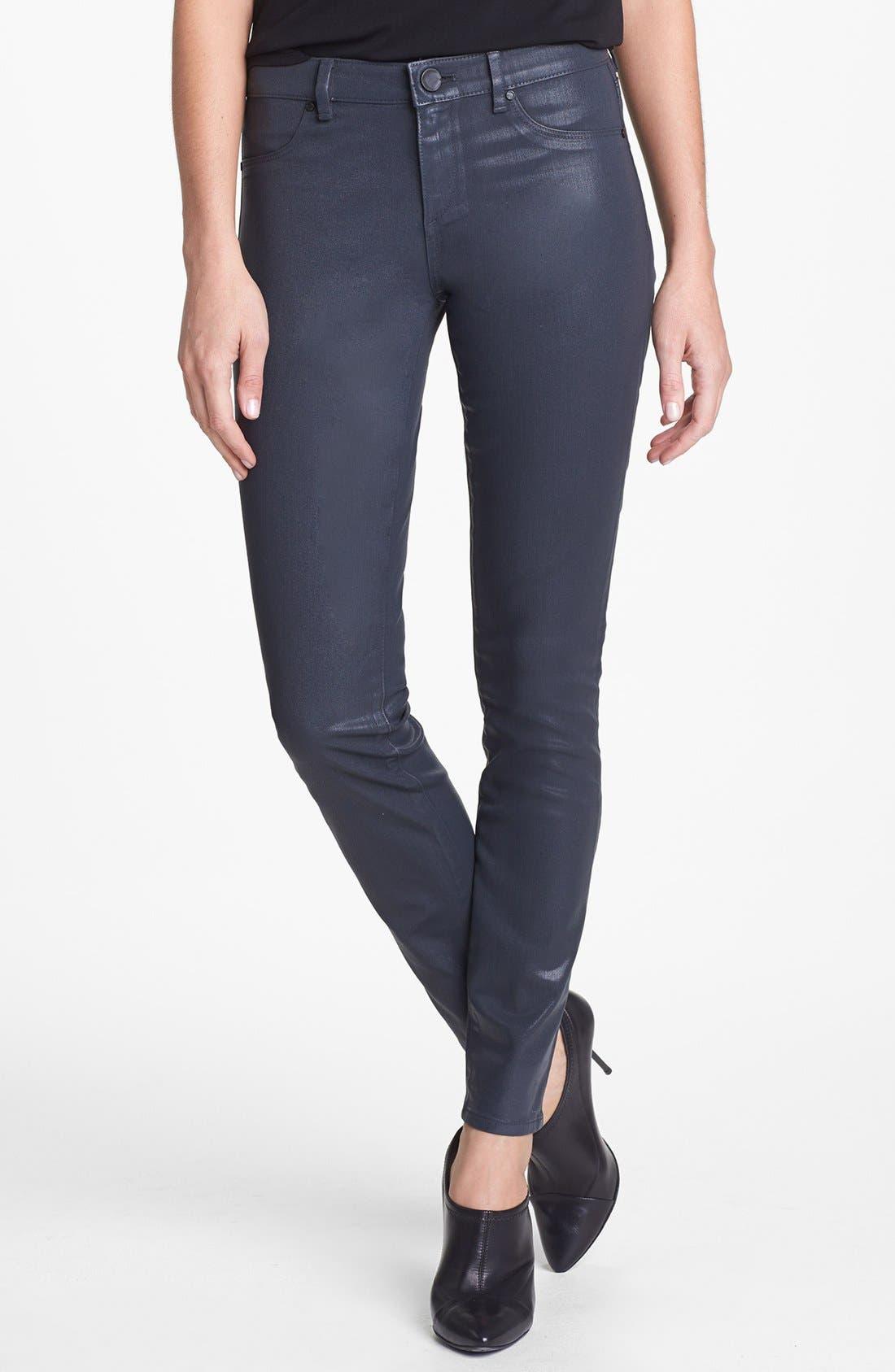 Main Image - Elie Tahari 'Azella' Skinny Jeans (Titanium)
