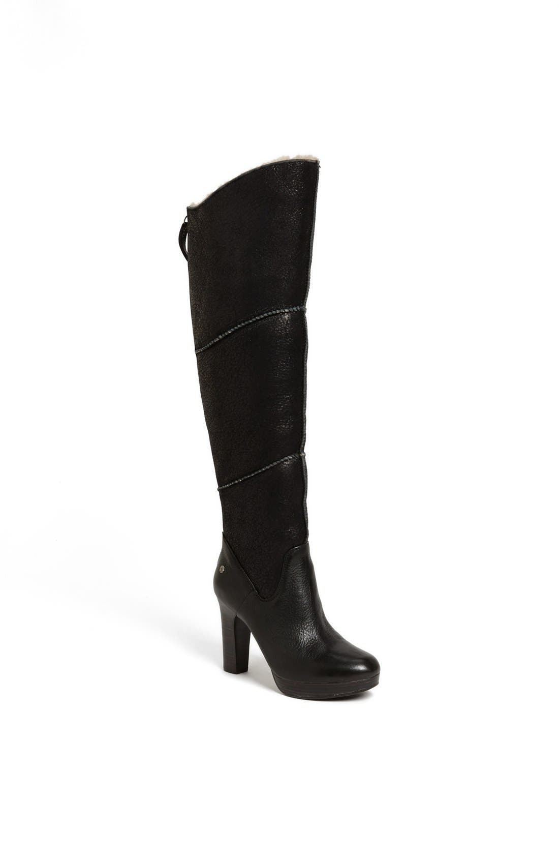 Alternate Image 1 Selected - UGG® Australia 'Dreaux' Boot (Wide Calf)