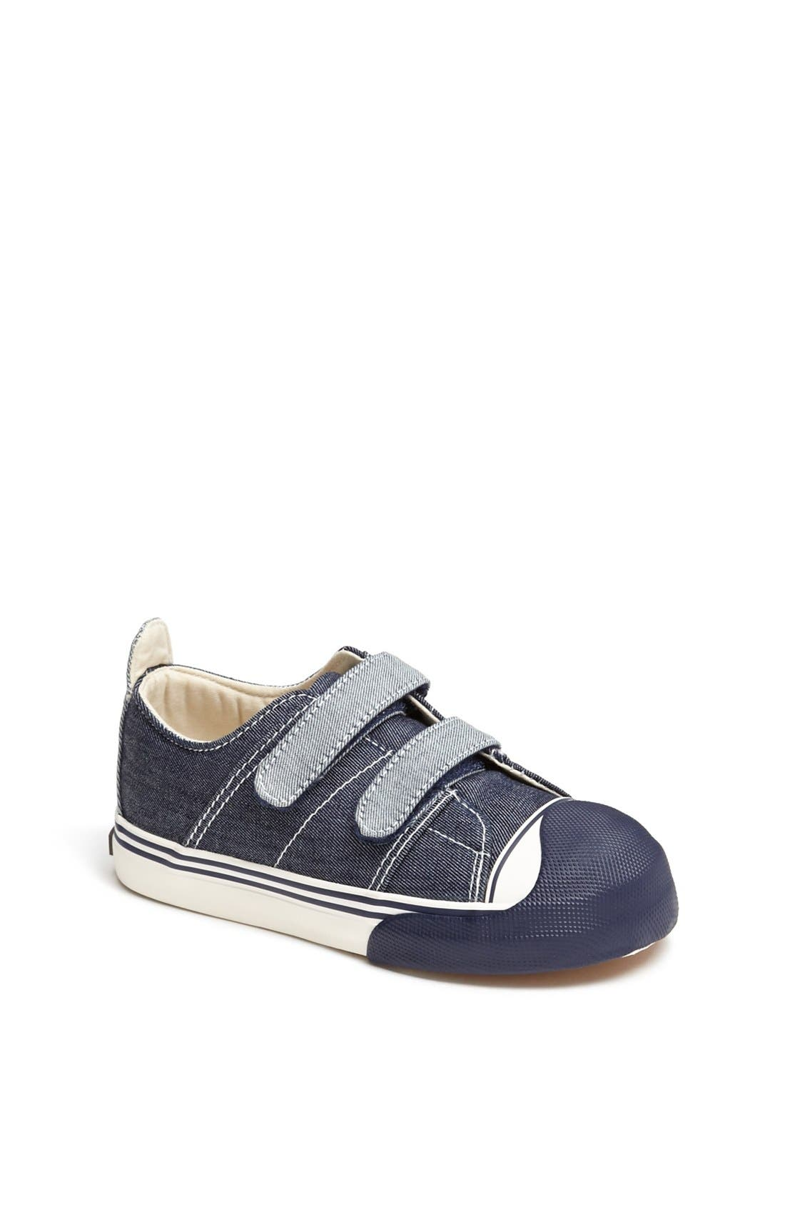 Alternate Image 1 Selected - Morgan & Milo 'Charlie' Sneaker (Walker & Toddler)