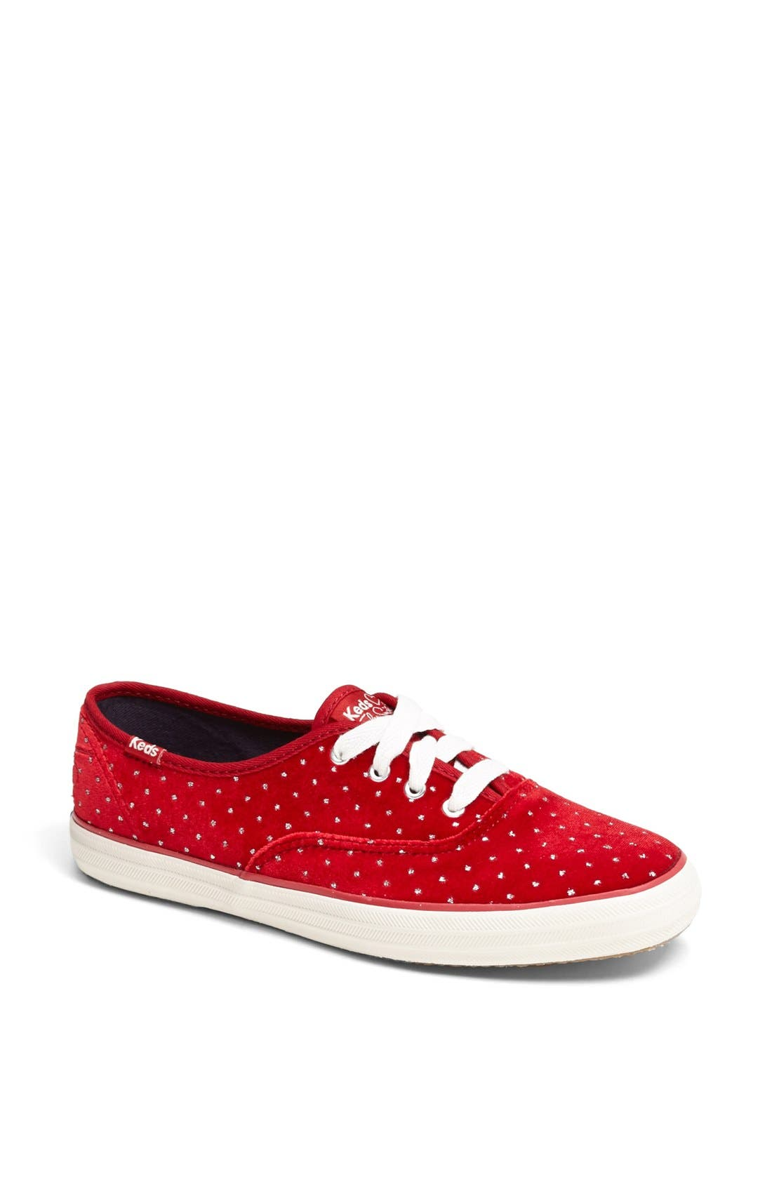 Alternate Image 1 Selected - Keds® Taylor Swift 'Velvet Glitter' Champion Sneaker
