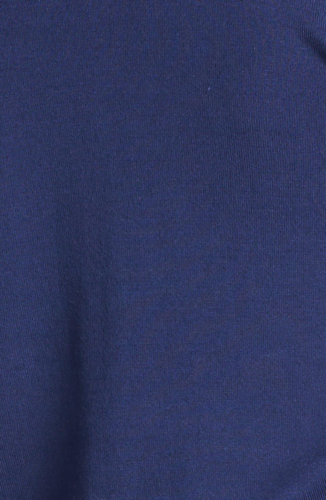 Three Quarter Sleeve Cardigan,                             Alternate thumbnail 2, color,                             Navy Peacoat
