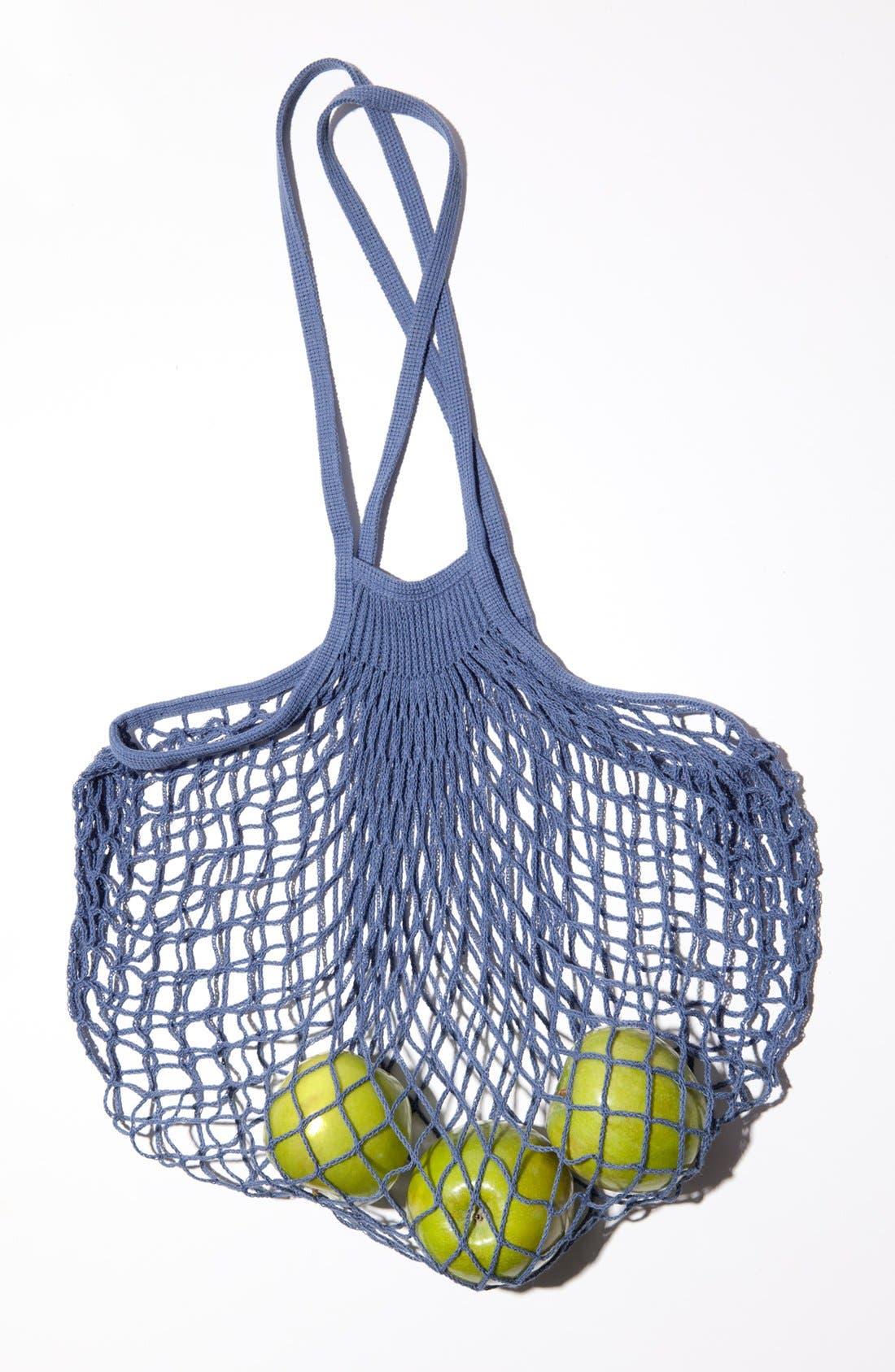 Alternate Image 2 Selected - Merci 'Filet à Provision' Bleu Net Shopping Bag