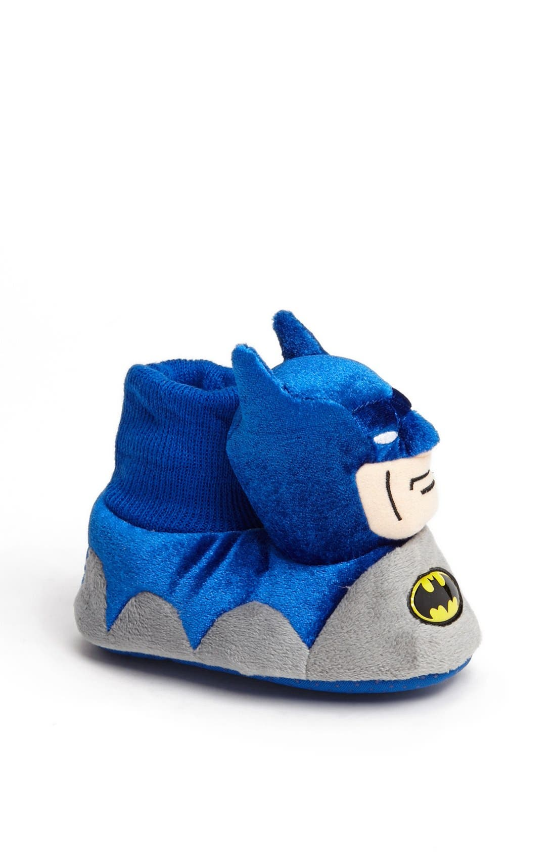Alternate Image 1 Selected - Marvel 'Batman' Slipper (Walker & Toddler)