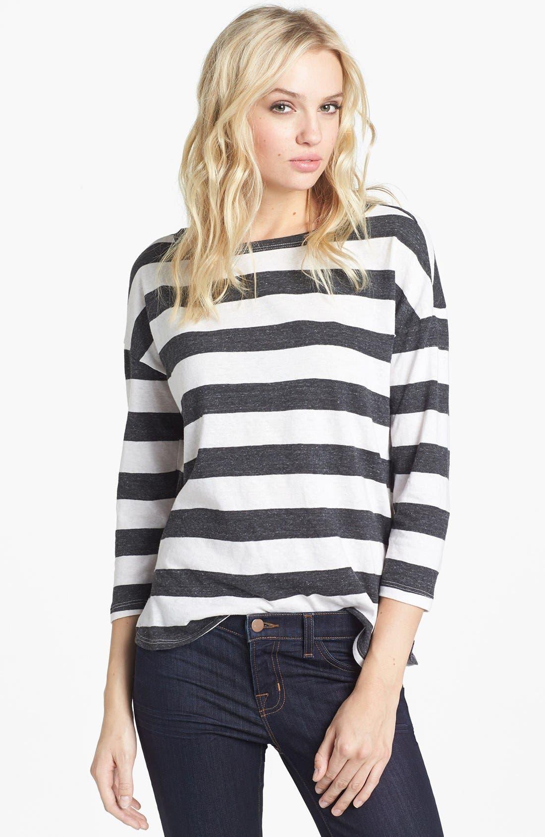 Alternate Image 1 Selected - Soft Joie 'Nash' Stripe Top