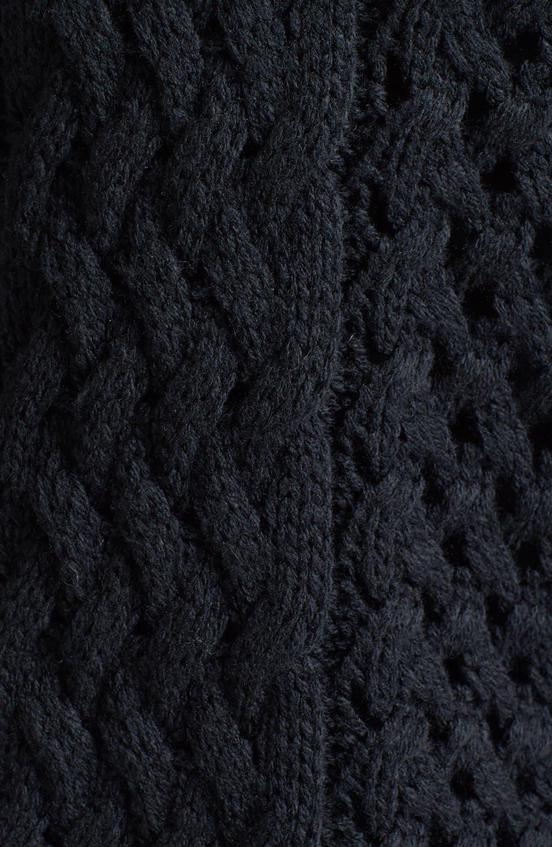 Alternate Image 3  - Trouvé Chain Detail Mix Knit Sweater