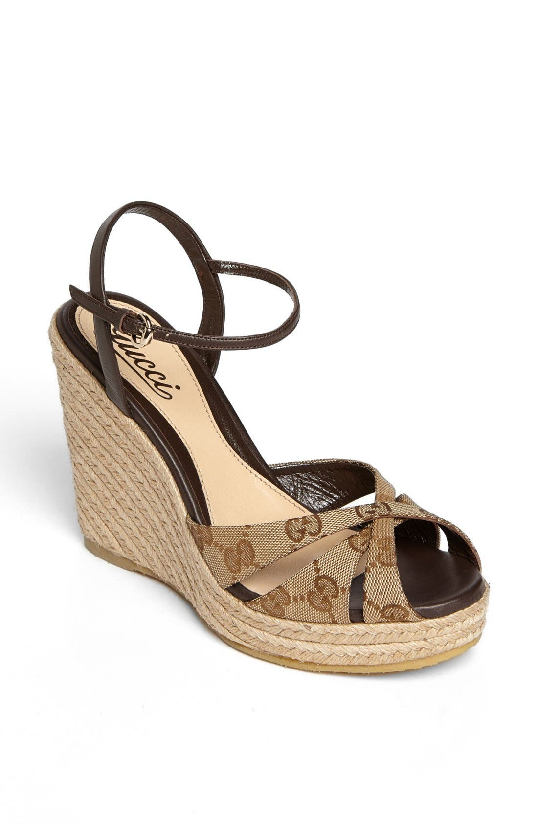Alternate Image 1 Selected - Gucci 'Penelope' Espadrille Sandal