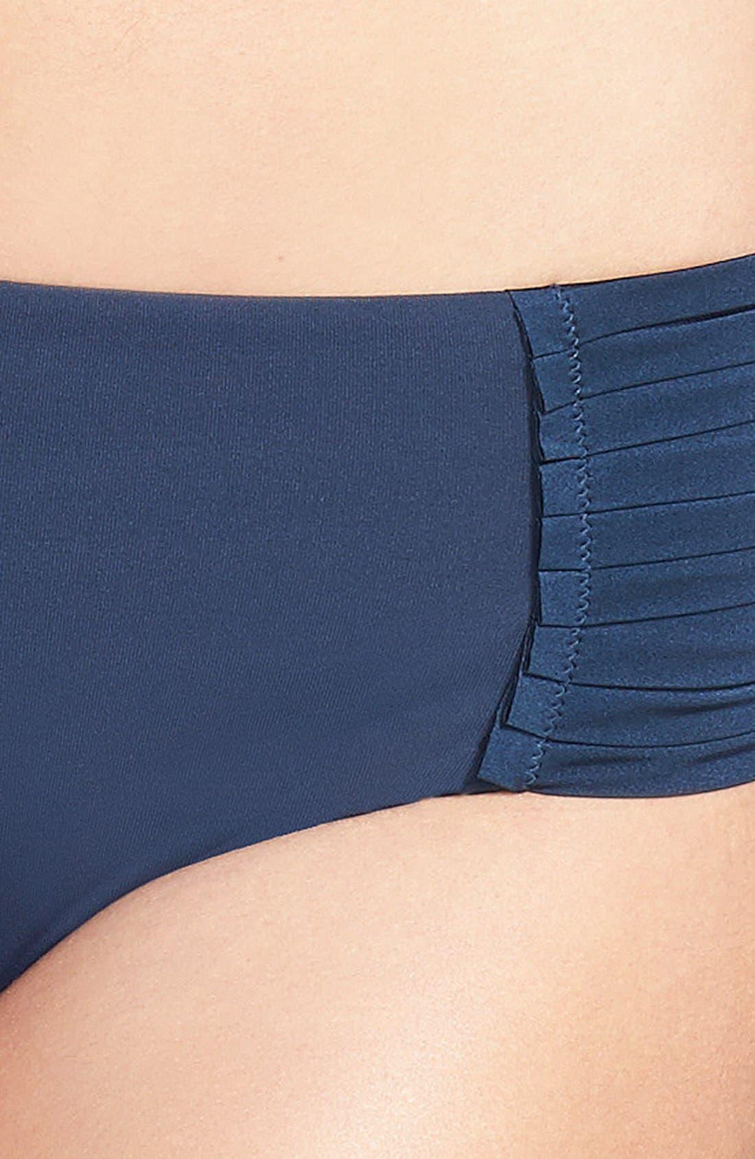 Alternate Image 5  - Seafolly 'Pleated Retro' Bikini Bottoms