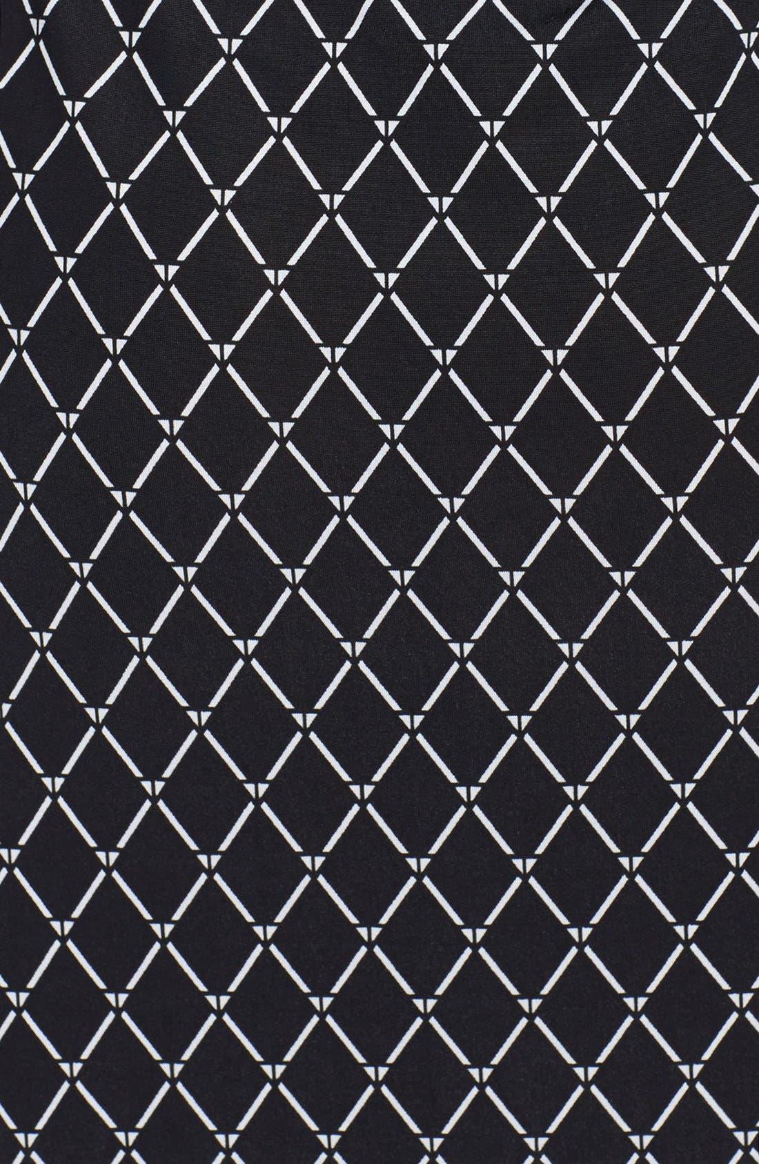 Alternate Image 2  - Tbags Los Angeles Ruffle Trim Jersey Maxi Dress