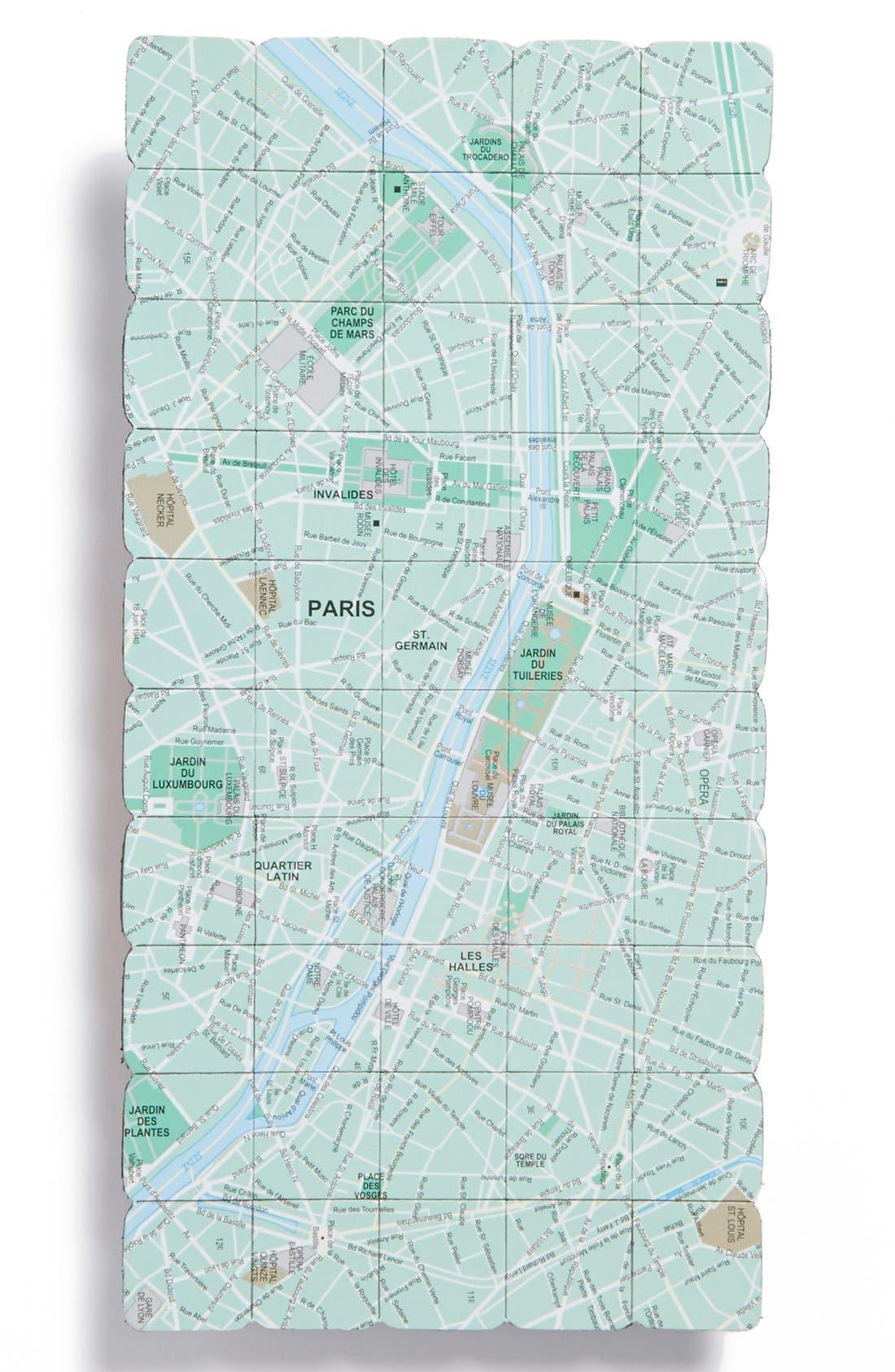 Main Image - Design Ideas Paris Map Magnet