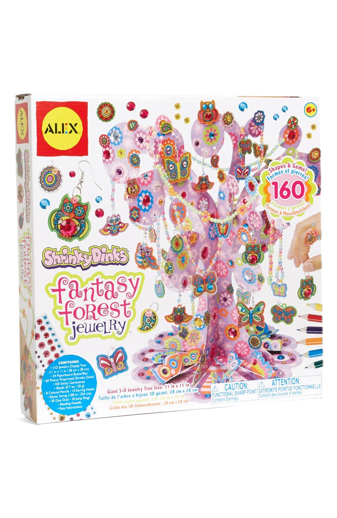 Main Image - Alex® Toys 'Fantasy Forest' Jewelry Making Kit with Shrinky Dinks®