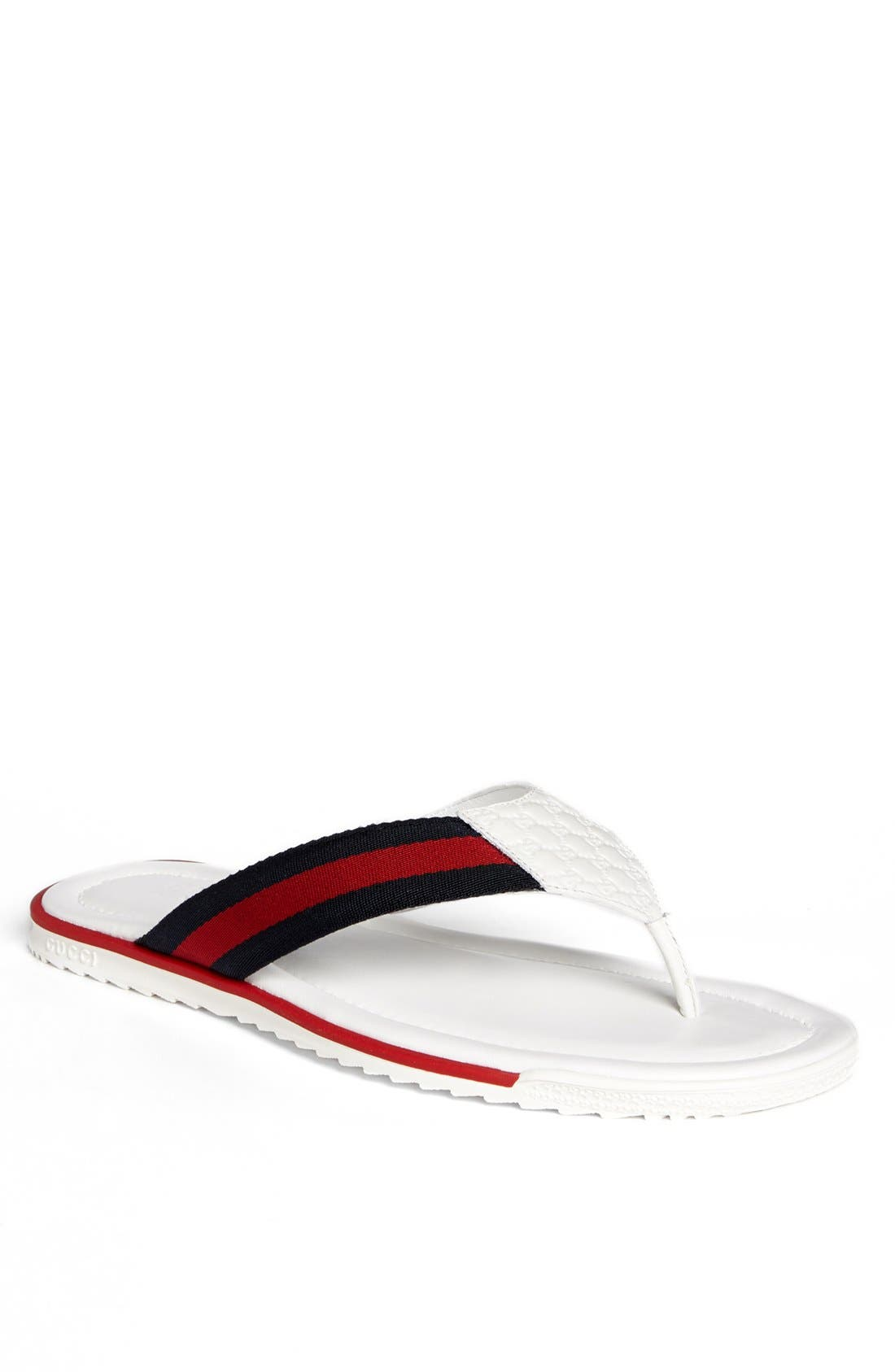 Alternate Image 1 Selected - Gucci 'SL 73 Beach' Flip Flop