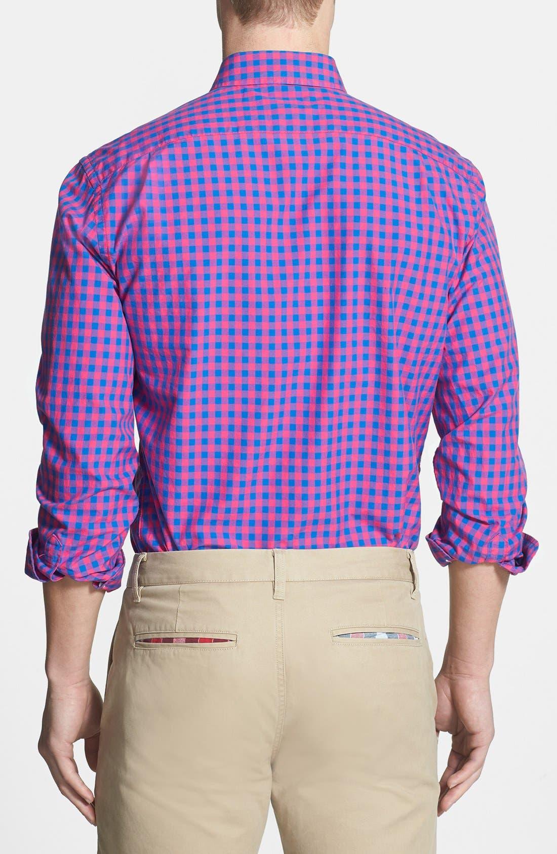 Alternate Image 2  - Bonobos 'Ging Crosby' Standard Fit Sport Shirt