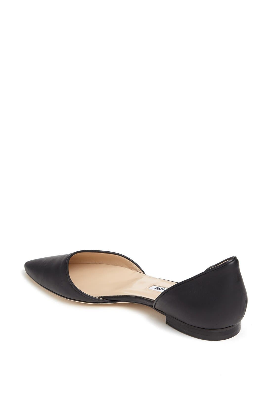 Alternate Image 2  - Manolo Blahnik 'Soussaba' Leather Pointed Toe Flat