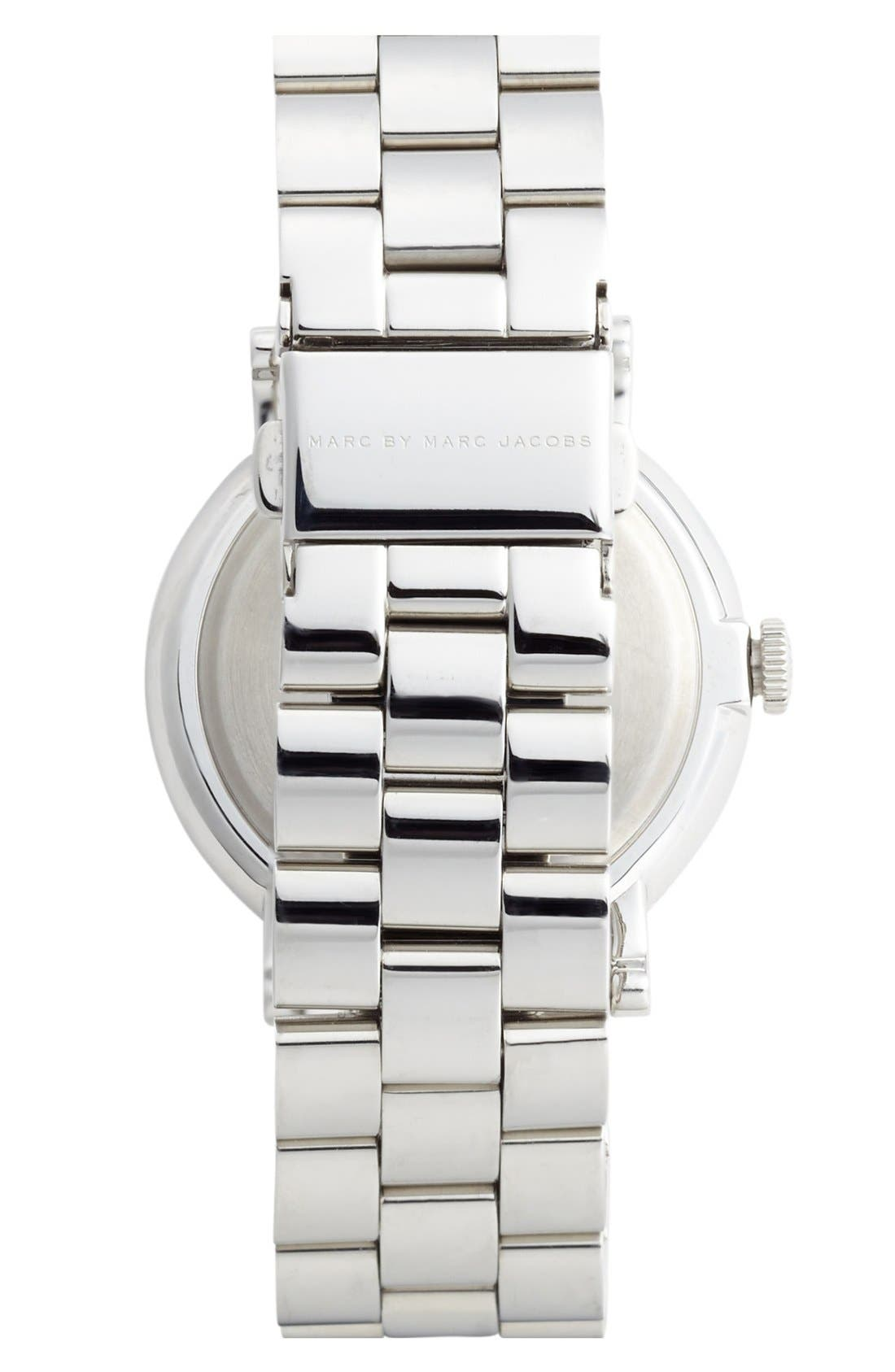 Alternate Image 2  - MARC JACOBS 'Baker' Bracelet Watch, 37mm