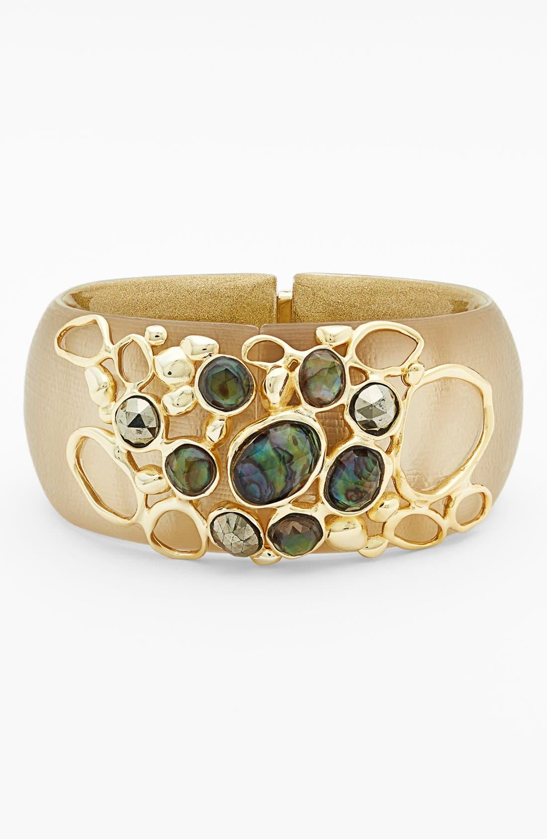 Alternate Image 1 Selected - Alexis Bittar Studded Hinged Cuff
