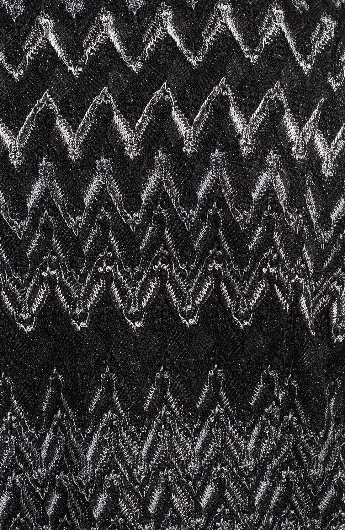 Alternate Image 3  - Missoni Zigzag Moto Jacket