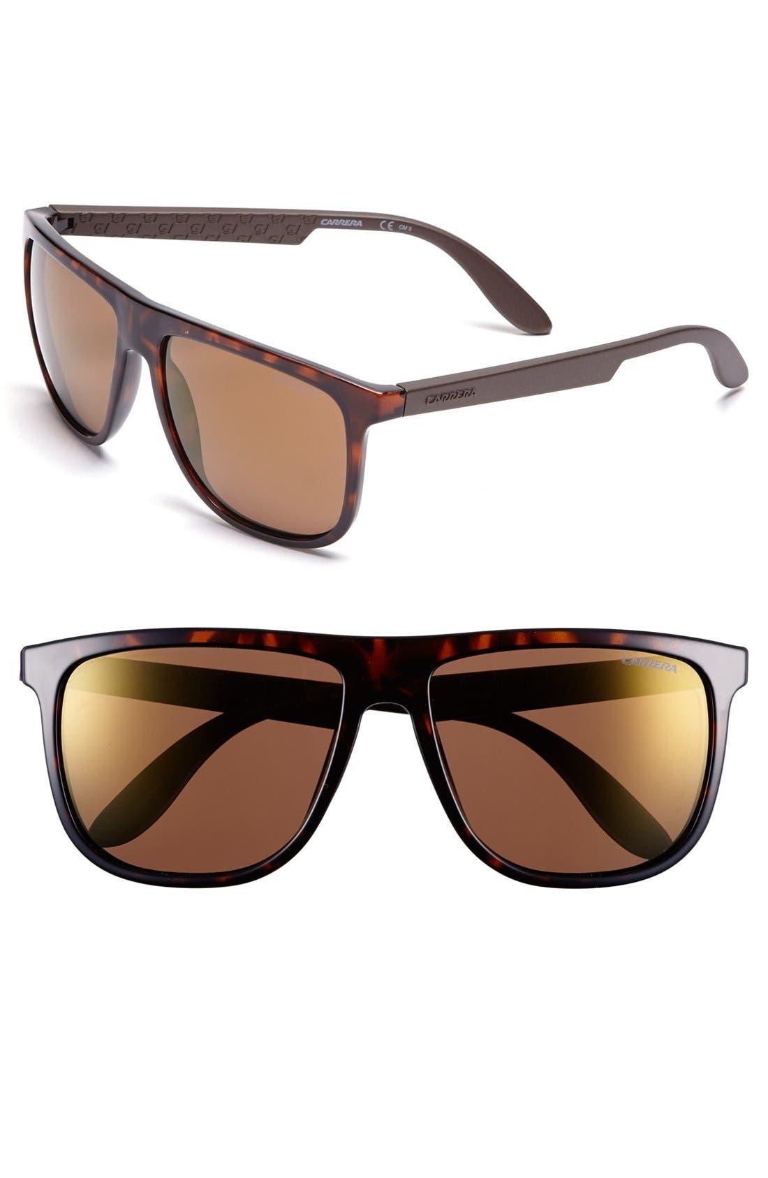 Carrera Eyewear 55mm Retro Sunglasses
