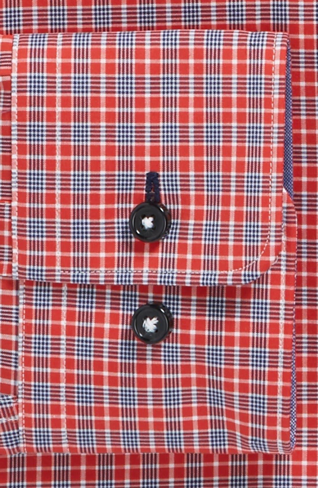 Alternate Image 2  - BOSS HUGO BOSS 'Juri' Slim Fit Easy Iron Dress Shirt