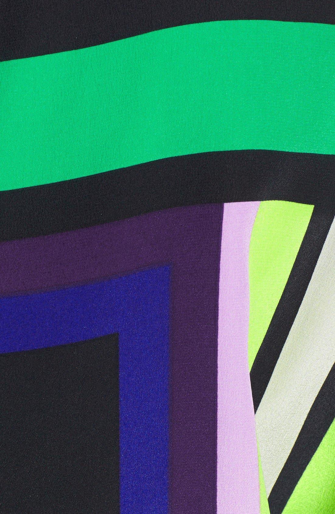 Alternate Image 3  - Diane von Furstenberg 'Lucy' Print Top Silk Jumpsuit