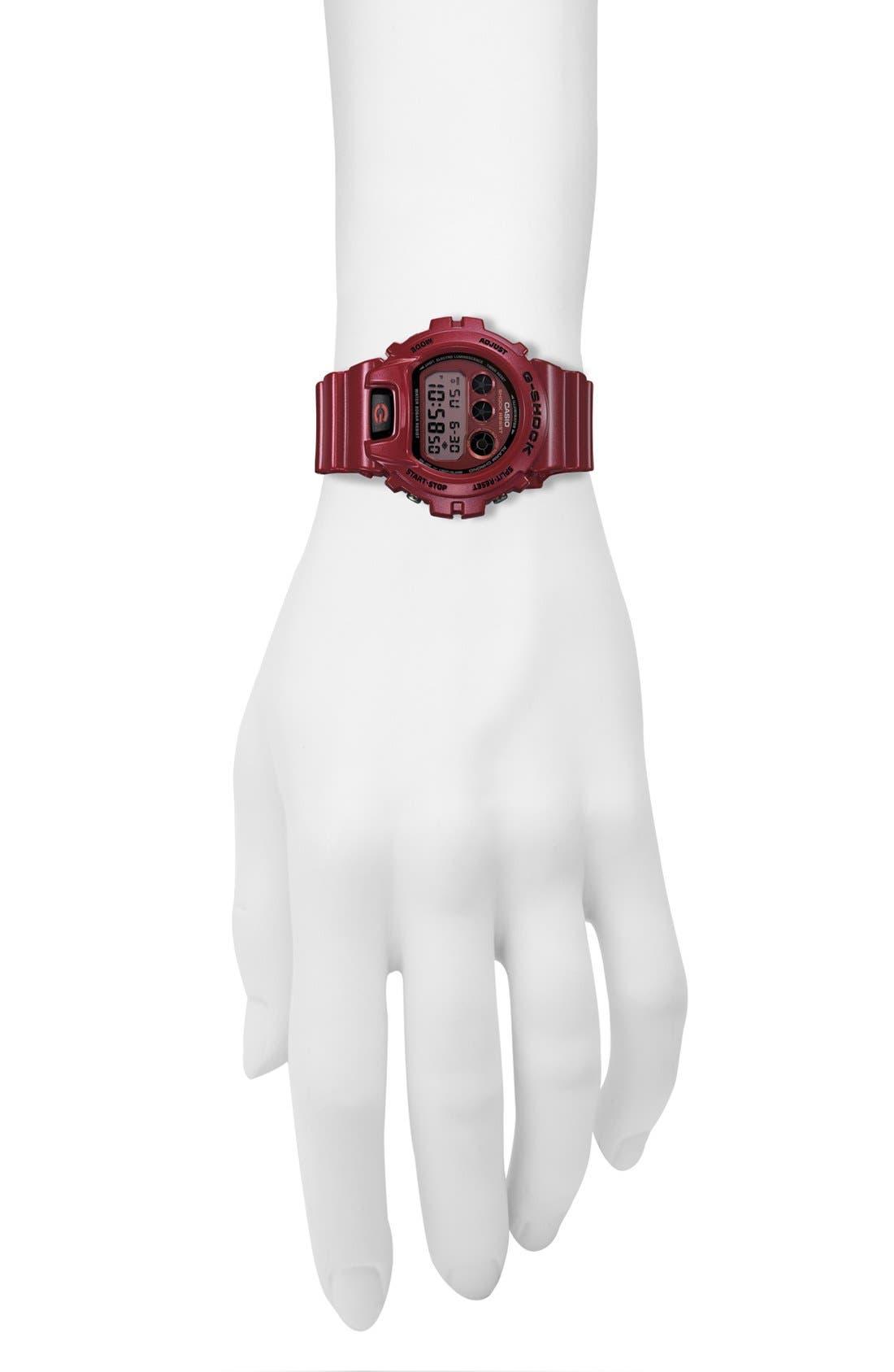 Alternate Image 2  - G-Shock Metallic Dial Watch, 53mm x 50mm