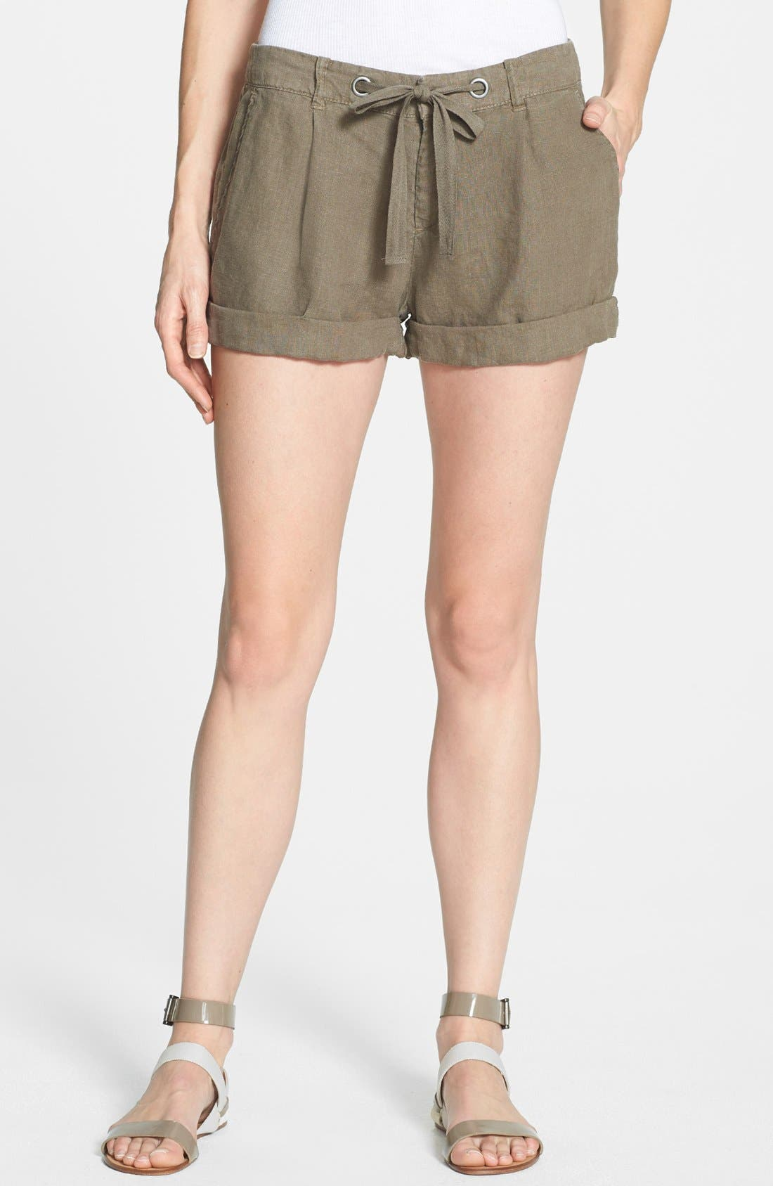 Alternate Image 1 Selected - Joie 'Farrow' Linen Shorts
