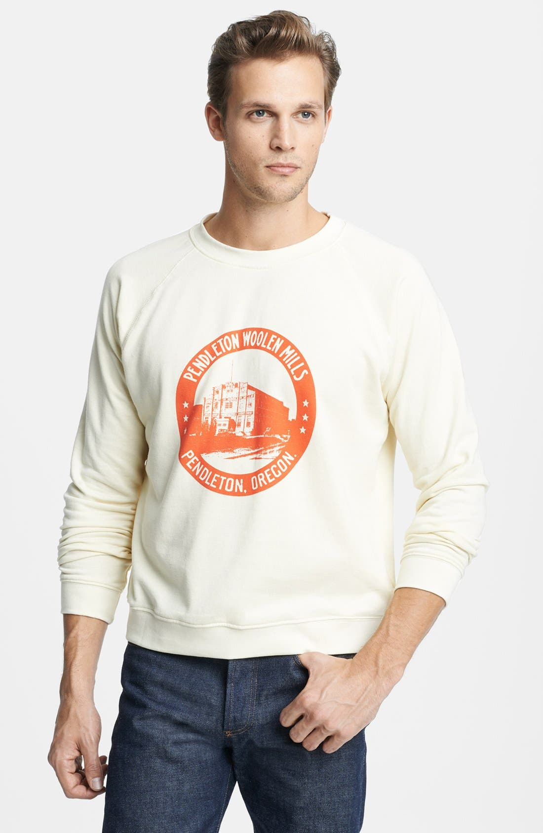 Alternate Image 1 Selected - Pendleton Portland Collection Sweatshirt