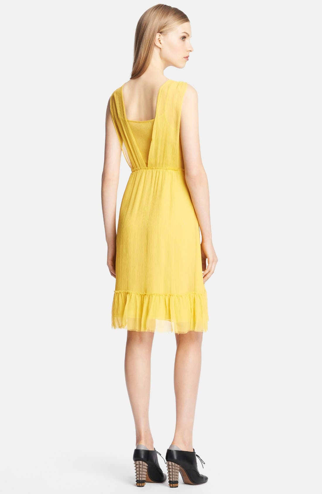 Alternate Image 2  - Band of Outsiders Tiered Silk Dress