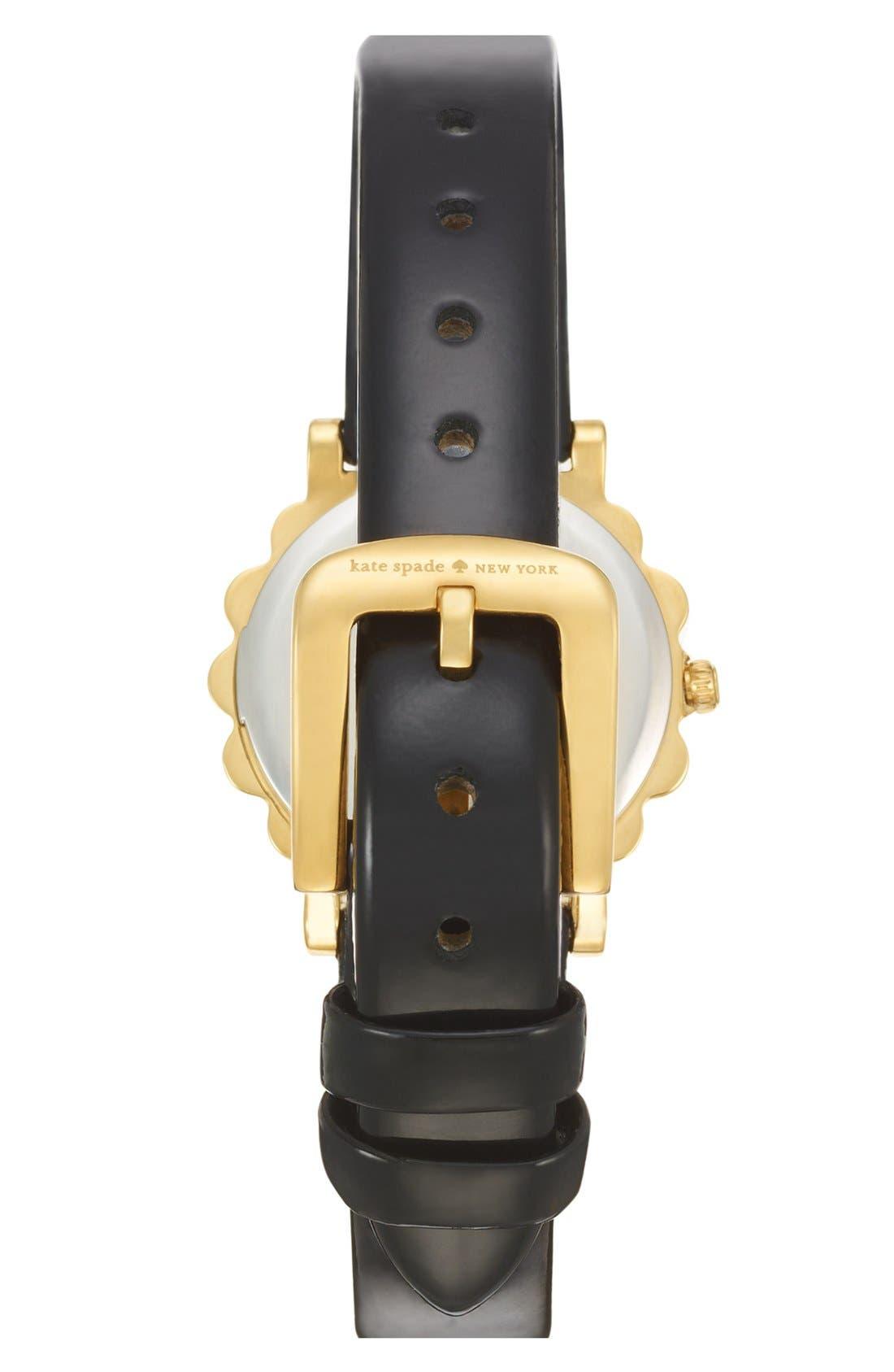 Alternate Image 2  - kate spade new york 'belvedere' crystal bezel watch, 24mm