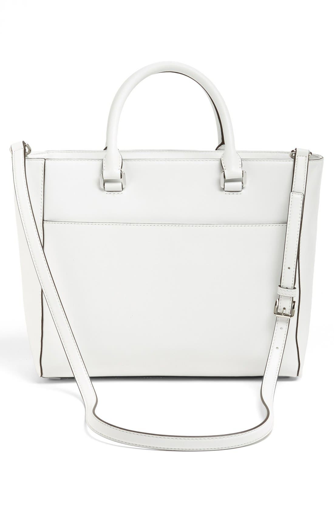 Alternate Image 4  - MICHAEL Michael Kors 'Natalia - Large' Leather Tote