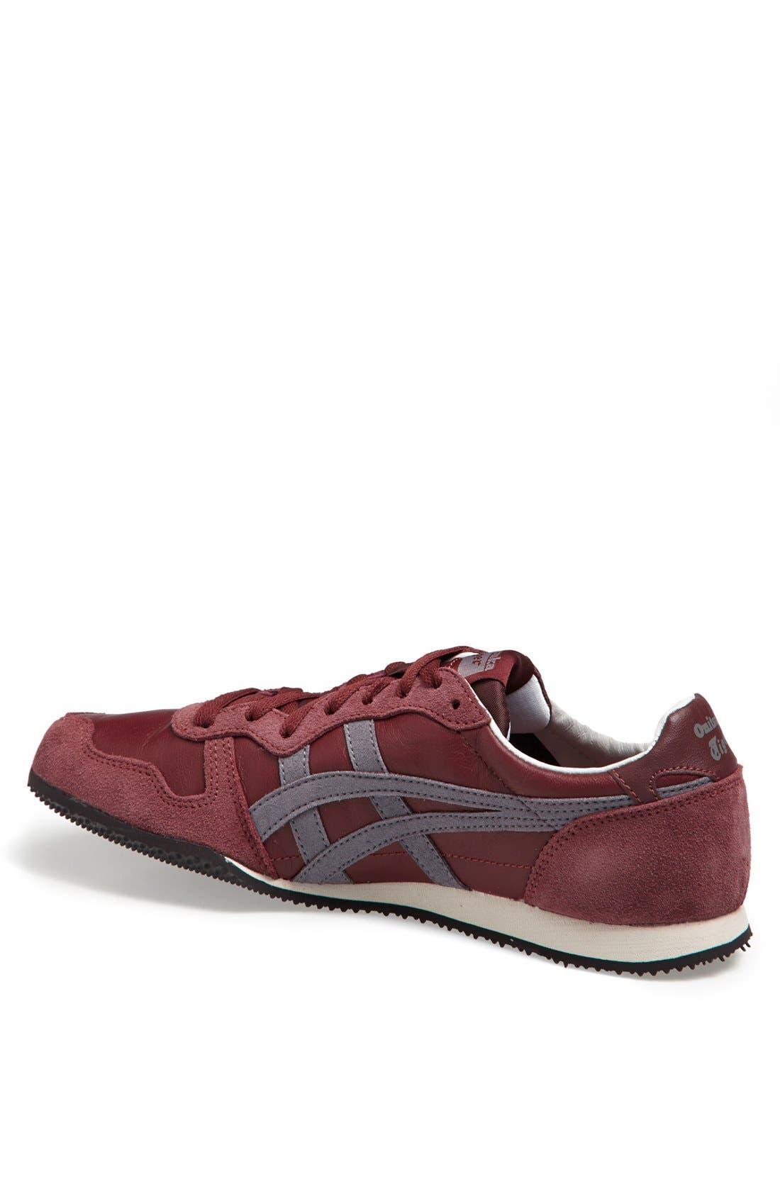 'Serrano' Sneaker,                             Alternate thumbnail 2, color,                             Burgundy/ Grey
