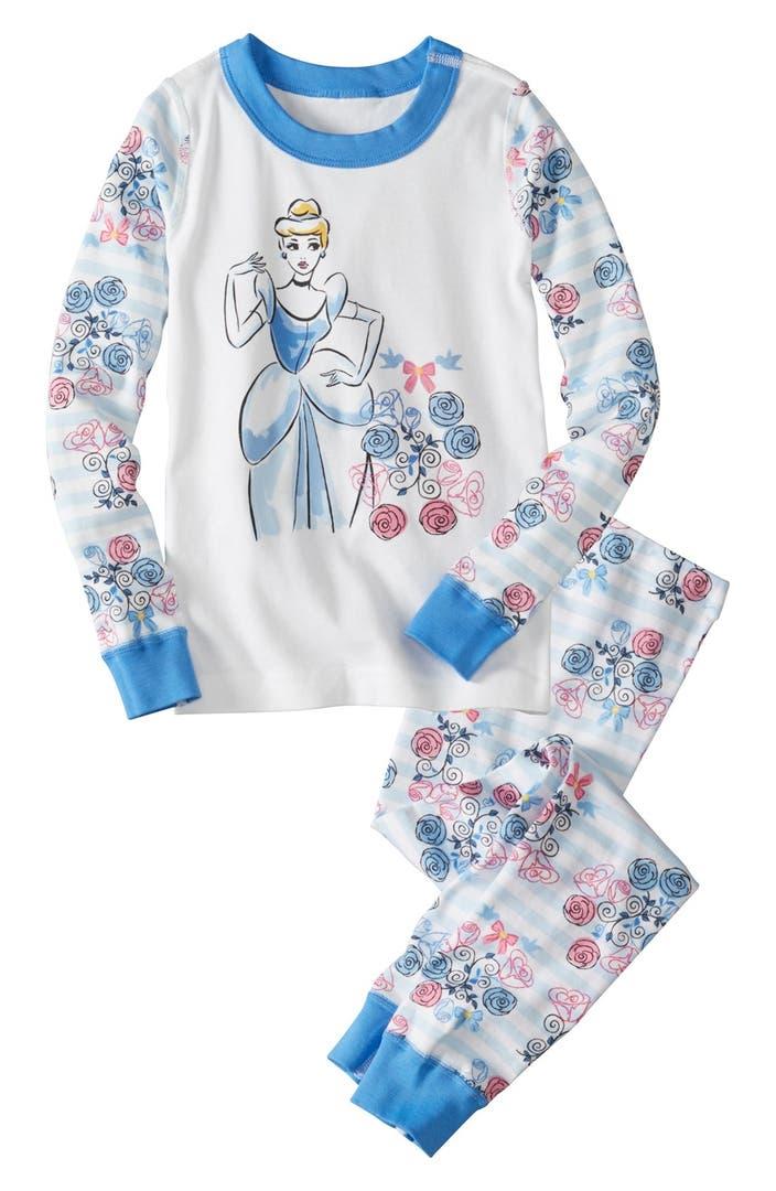 Retail Girls Long Sleeves Cartoon Pajama Sets For Spring