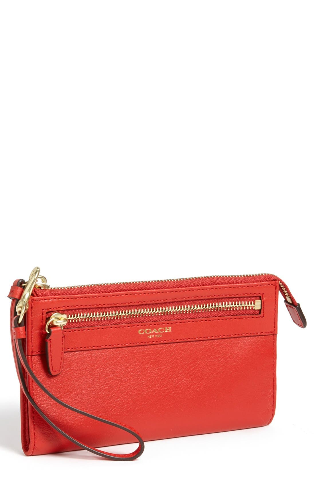 Alternate Image 1 Selected - COACH 'Legacy - Zippy' Leather Wallet