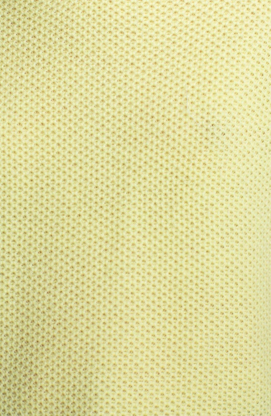 Alternate Image 4  - autumn cashmere Honeycomb Stitch Cashmere Hoodie