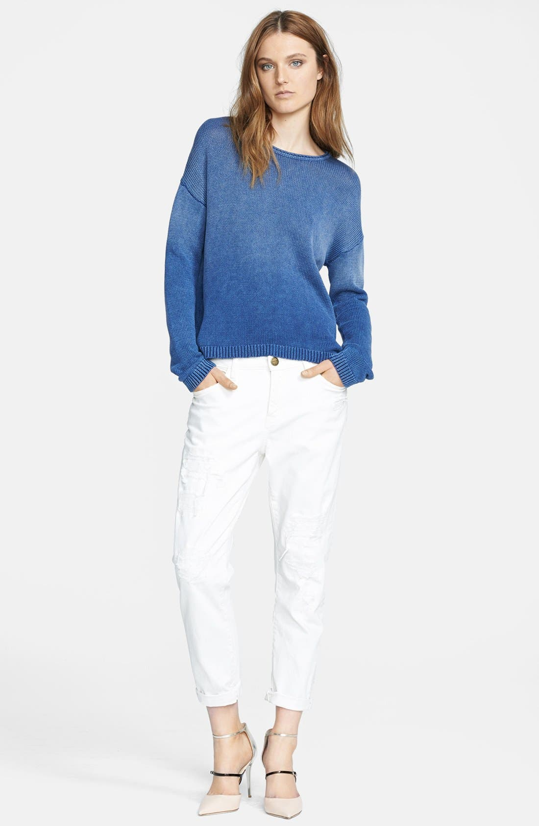 Main Image - Current/Elliott 'The Stiletto' Jeans (Dirty White)