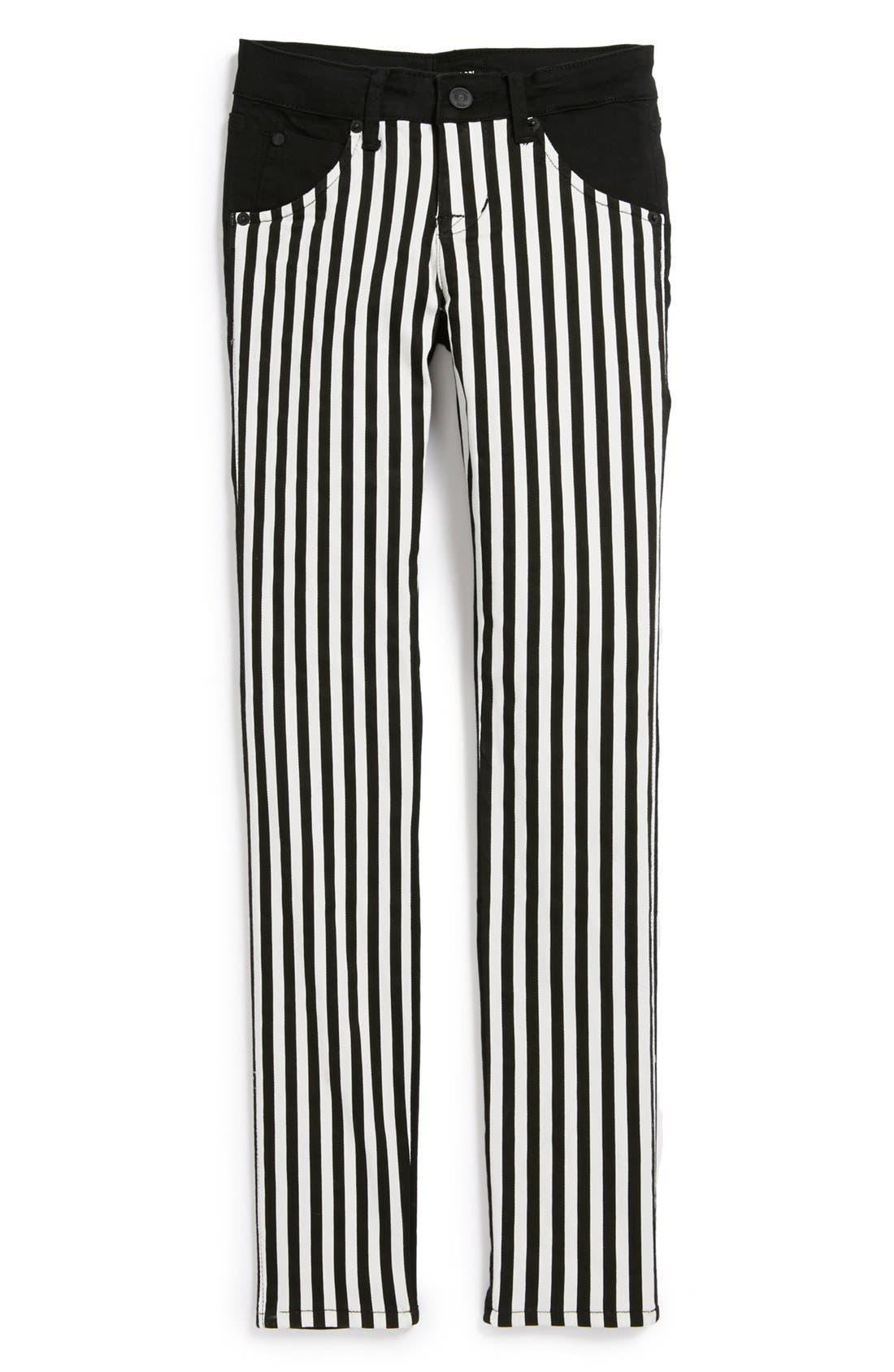 Alternate Image 1 Selected - Hudson Kids 'Collin' Skinny Jeans (Vice Versa) (Big Girls)