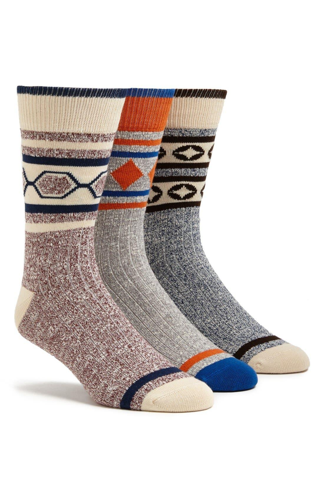 Alternate Image 1 Selected - Pact 'Camp' Socks (3-Pack)