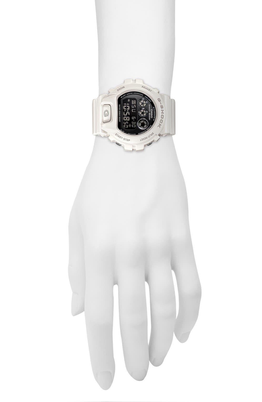 Alternate Image 4  - G-Shock 'Mirror Metallic' Digital Watch, 50mm x 45mm