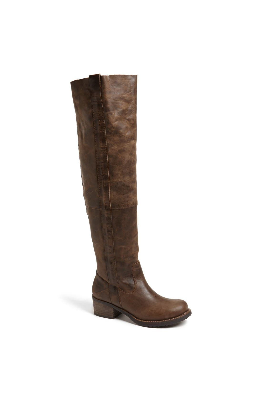 Main Image - Steve Madden 'Maisie' Leather Over the Knee Boot