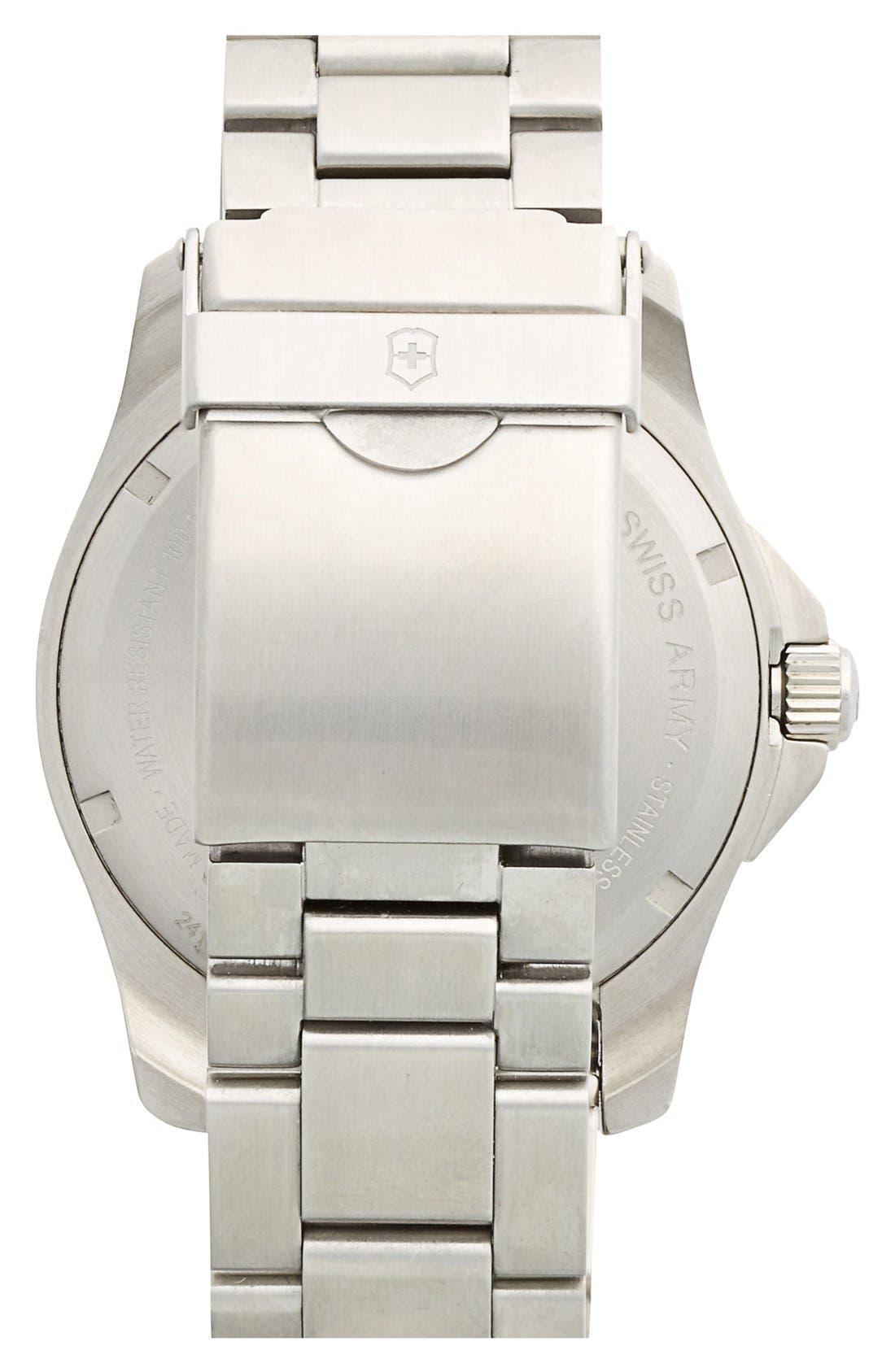 Alternate Image 2  - Victorinox Swiss Army® 'Maverick GS' Stainless Steel Watch, 43mm