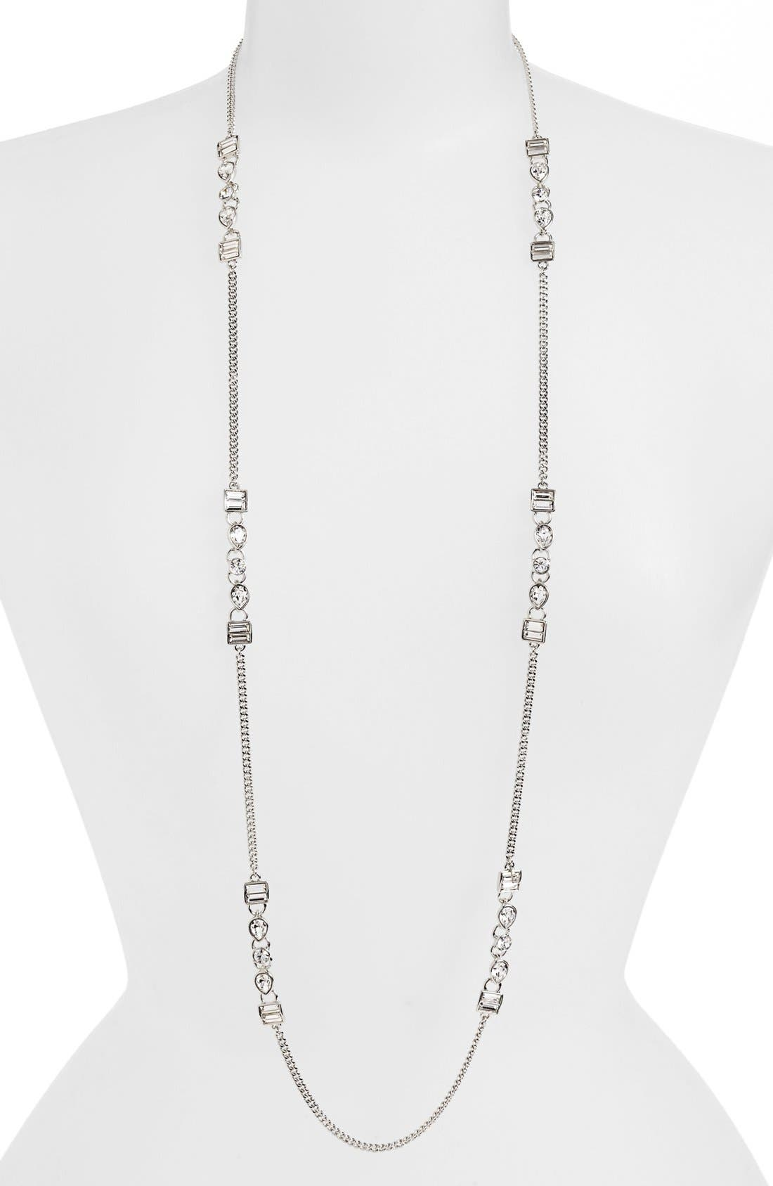 Alternate Image 1 Selected - Givenchy Crystal Station Necklace (Nordstrom Exclusive)