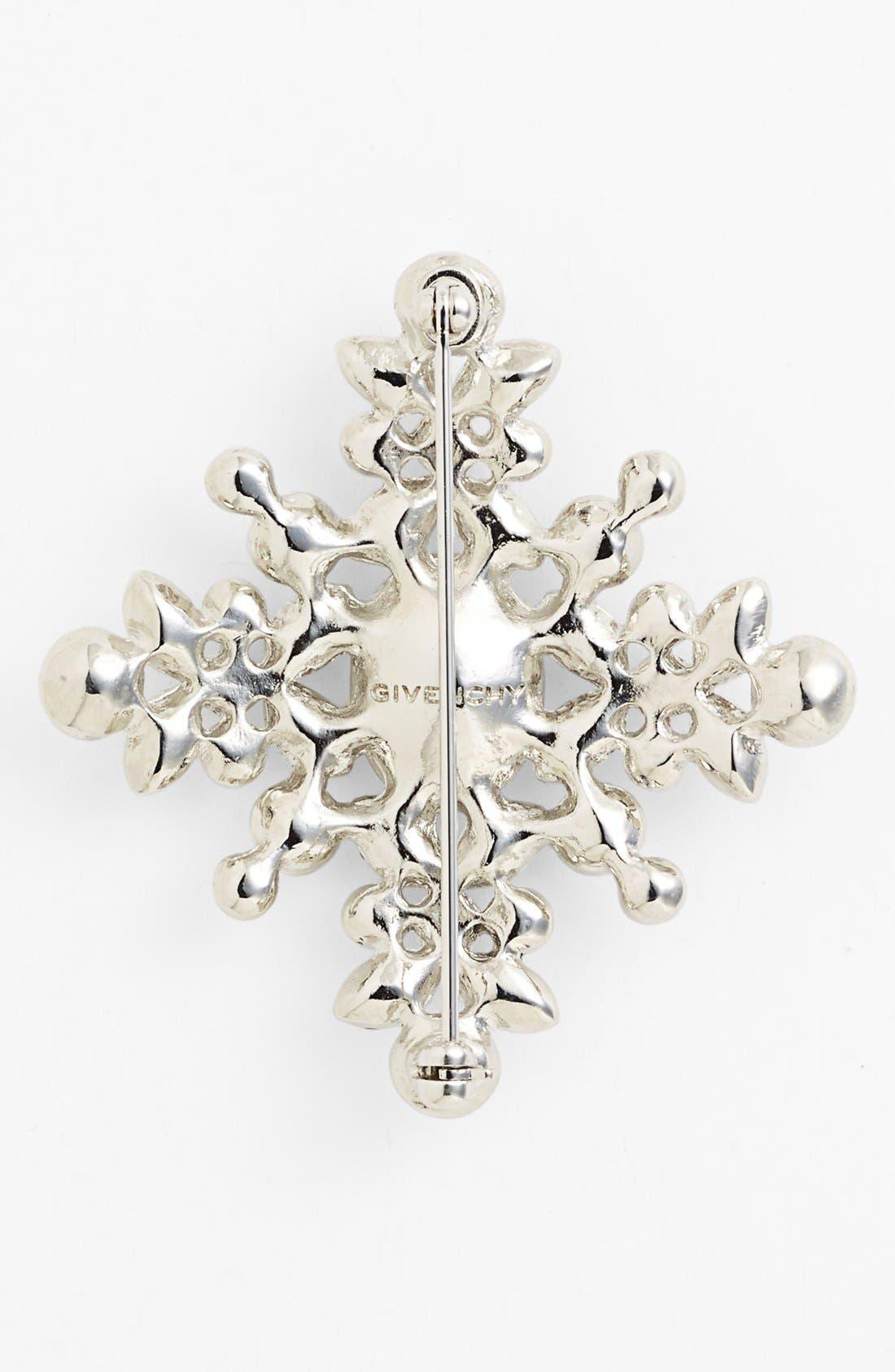Alternate Image 2  - Givenchy Crystal Cluster Brooch