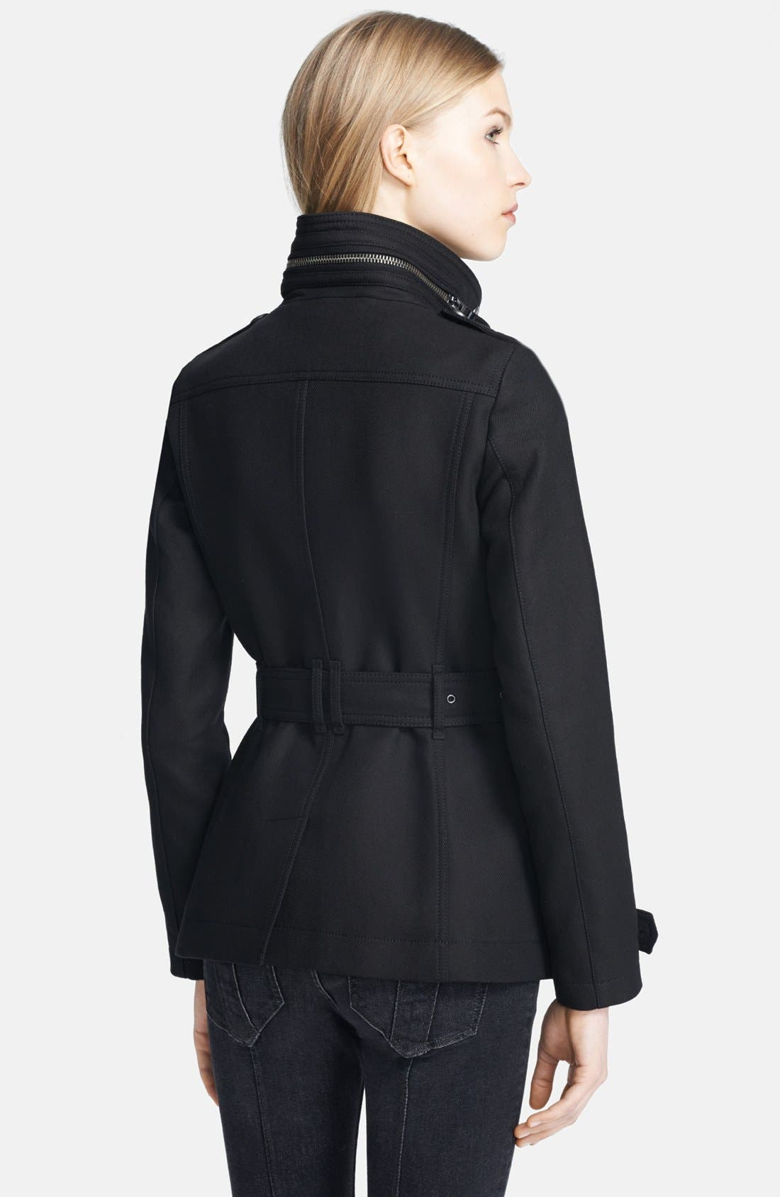 Alternate Image 2  - Burberry Brit 'Wilford' Double Breasted Trench Coat