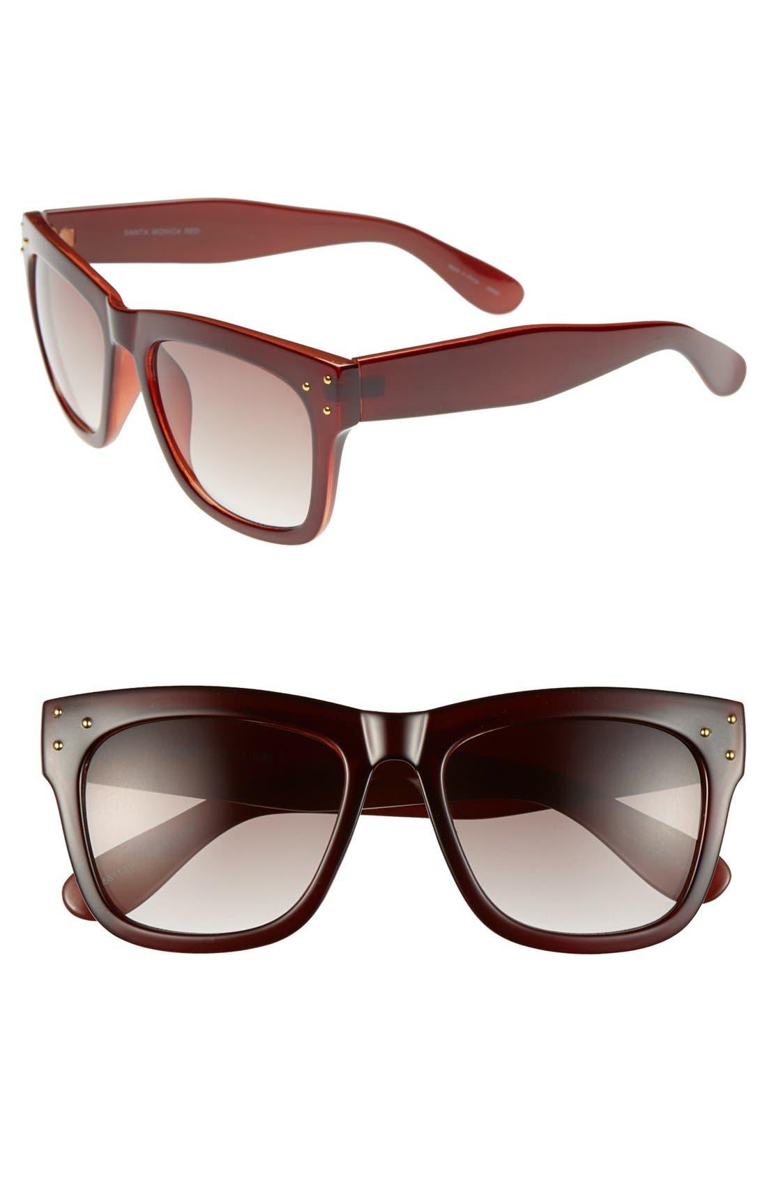Alternate Image 1 Selected - Outlook Eyewear 'Santa Monica' 53mm Sunglasses