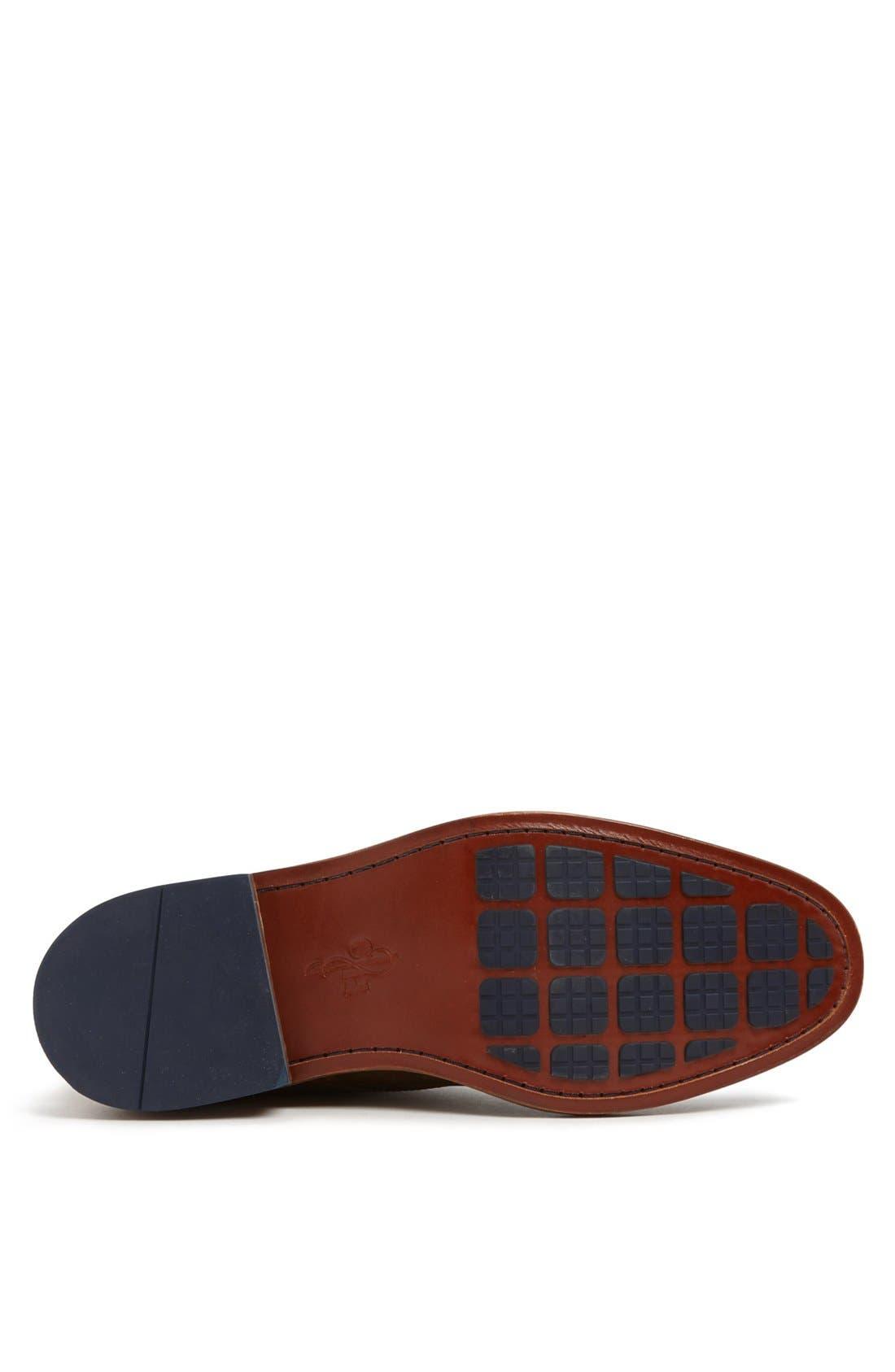'Colton' Chukka Boot,                             Alternate thumbnail 5, color,                             Copper/ Peacoat Leather