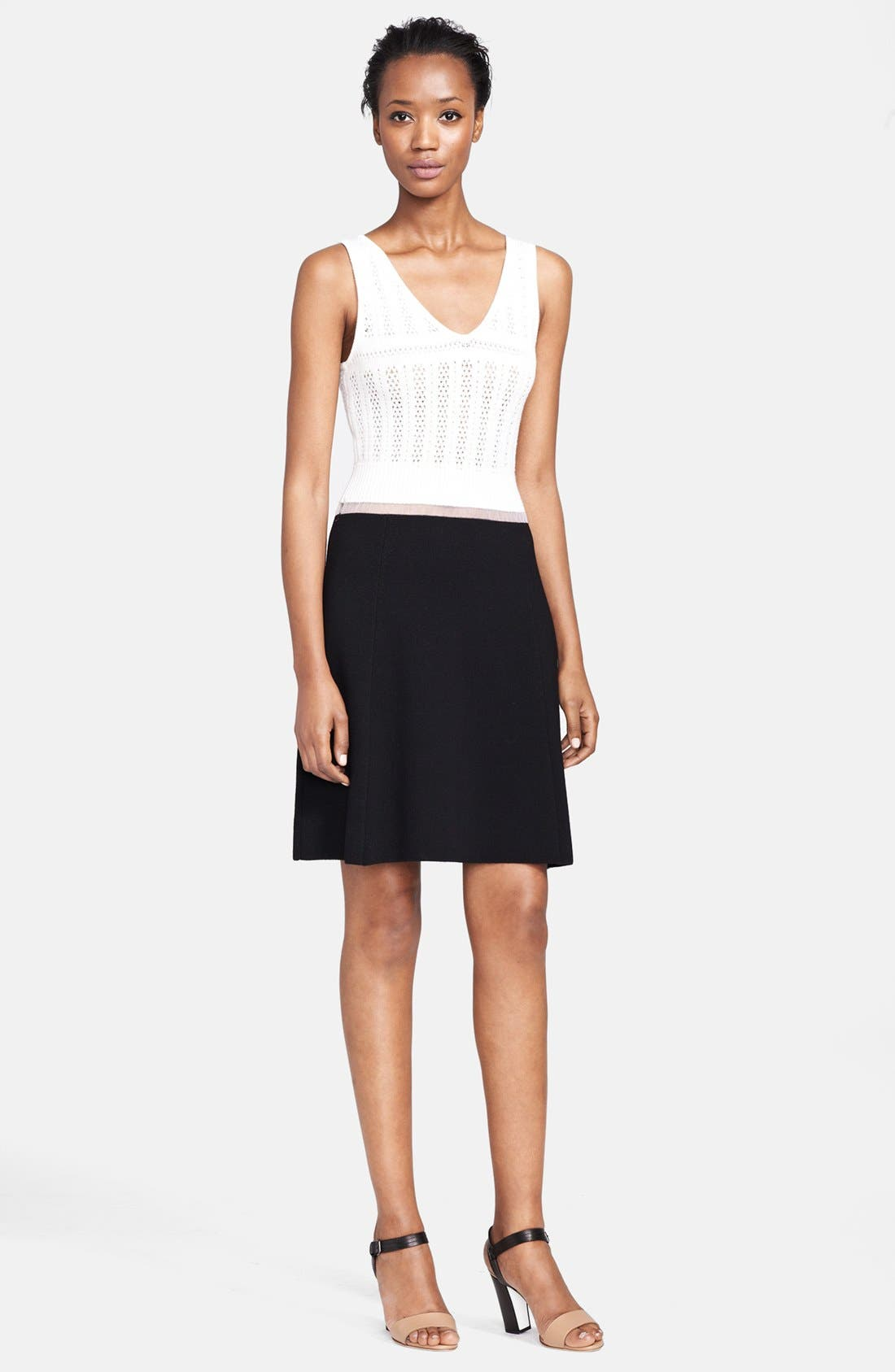 Alternate Image 1 Selected - Thakoon Two-Tone Dress