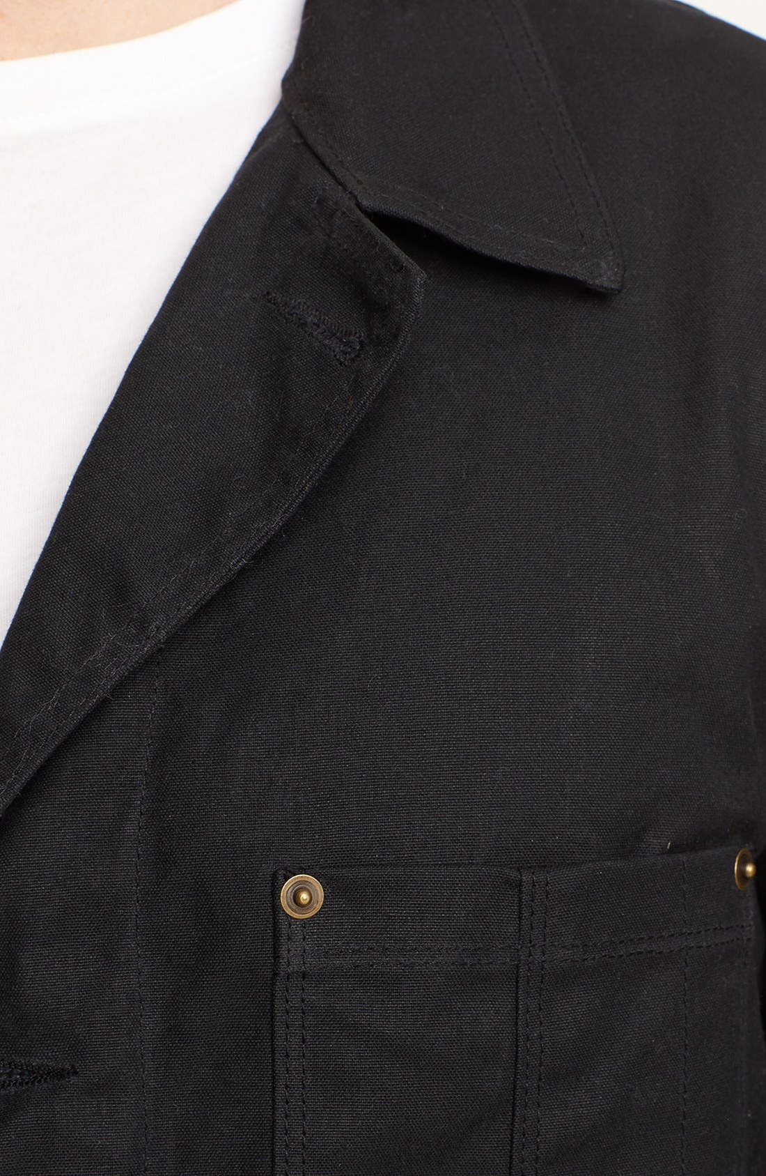 Alternate Image 3  - Billy Reid Waxed Cotton Quail Jacket