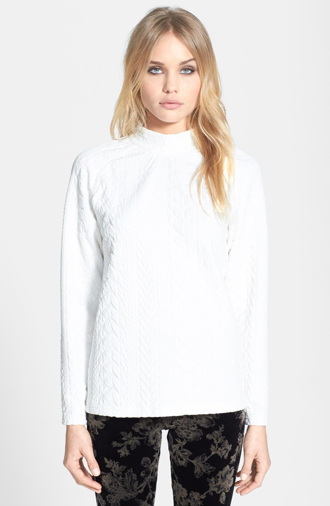 Alternate Image 1 Selected - Topshop 'The Collection Starring Kate Bosworth' Knit Sweater
