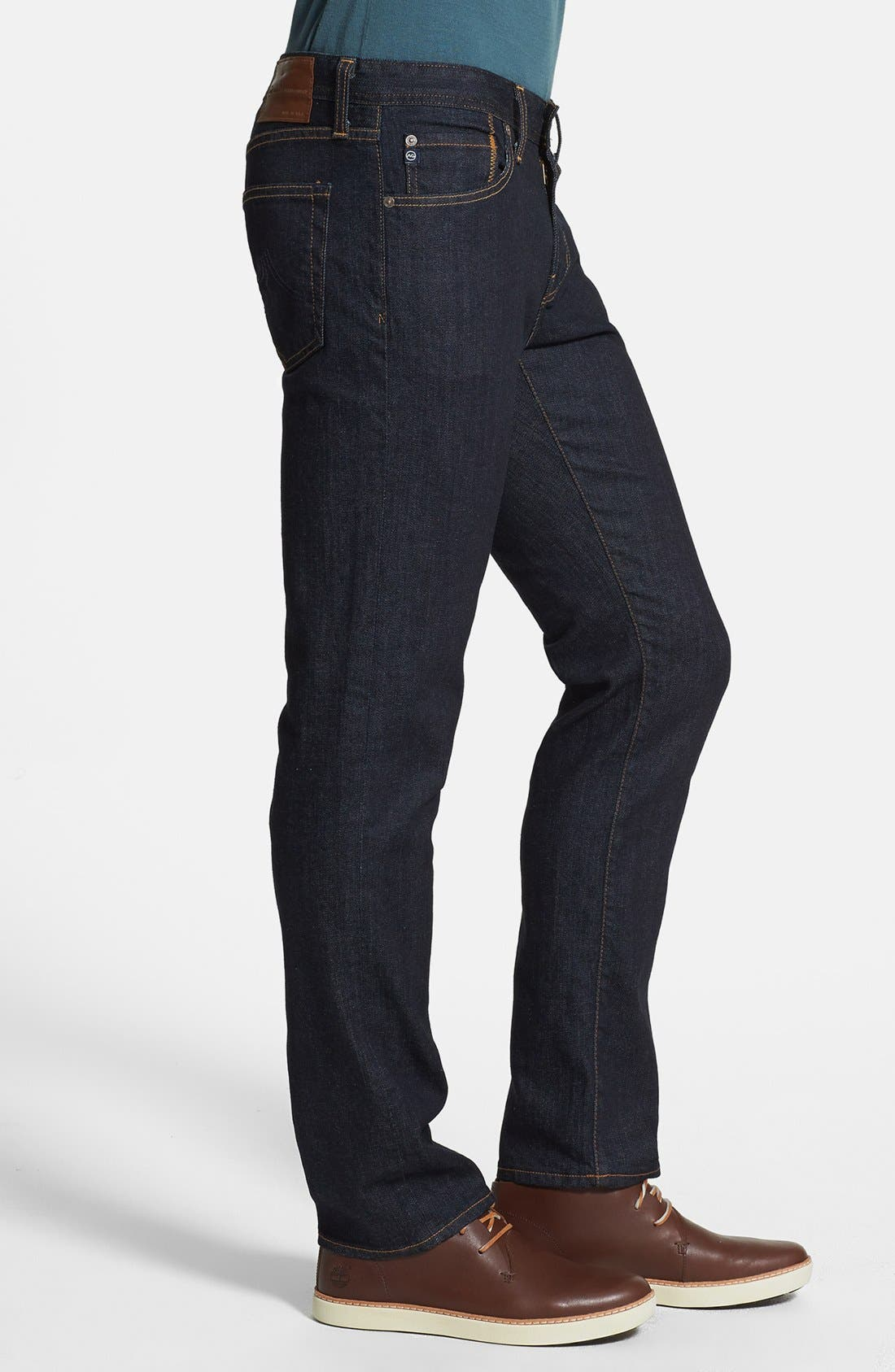 Alternate Image 3  - AG 'Graduate' Slim Straight Leg Jeans (Jack) (Regular & Tall)