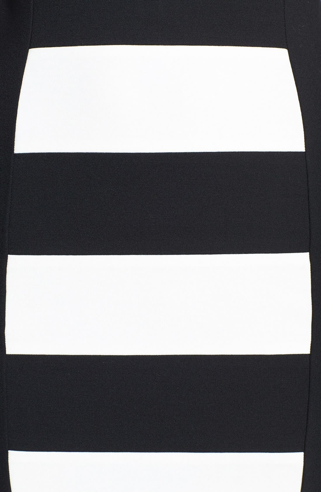 Alternate Image 3  - DKNYC Colorblock Ponte Sheath Dress